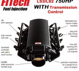 Ultimate LS Kit for LS3/L92 - 750HP With Trans. Control | FiTech - 70014