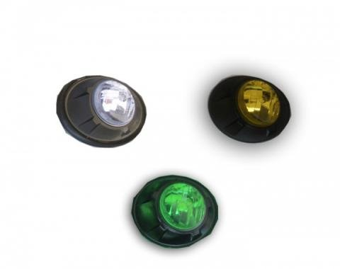 Camaro Fog Light Covers, Optic, 2010-2013