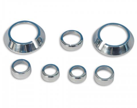 Camaro Billet Interior Knob Kit 2010-2014