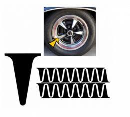 "Nova - Rally II 15"" Wheel Paint Stencil"