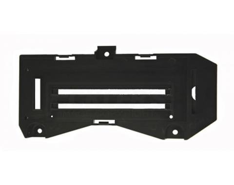 Camaro Heater Control Backing Plate, With Or Without Air Conditioning, 1977-1981