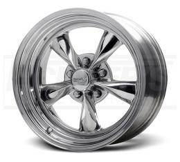 Camaro Polished Fuel Wheel, 15x8, 5x4 1/2 Pattern, 1967-1981