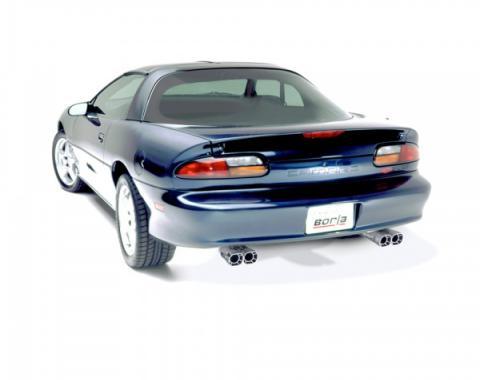 Firebird Borla Exhaust System, 3'' Cat Back Adjustable, V8, Borla, 1998-2002