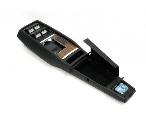 Camaro Console, Assembled, For Cars With Gauges & 4-Speed Manual Transmission, 1968