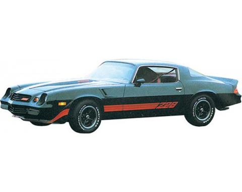 Camaro Strip Kit, Z28, Spectra Red/Tomato Red/Blazing Red, 1980-1981