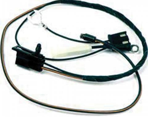 Firebird Wiring Harness, Air Conditioning, Pontiac 265 & 301, Compressor to A/C Harness, 1981
