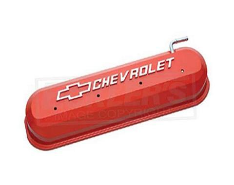Firebird LS V8, Valve Cover, Orange With Raised Emblems
