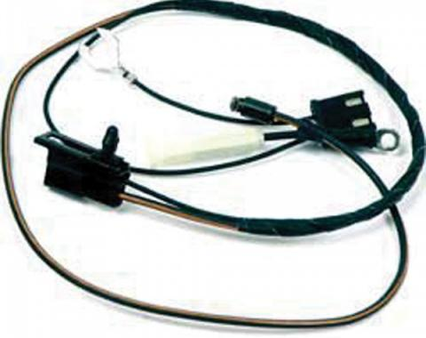 Firebird Wiring Harness, Air Conditioning, Pontiac 350 & 400 Engines, Compressor to A/C Harness, 1977-1978