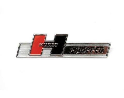 Firebird Hurst Equipped Emblem, ABS Plastic, 1967-2002