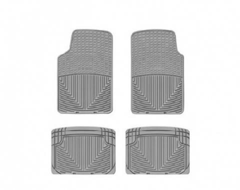 Camaro Front And Rear FloorLiner™, DigitalFit®, WeatherTech®, 1967-2002