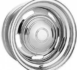 Camaro Rally Wheel, 15 x 8, Chrome, American Racing, 1967-1969