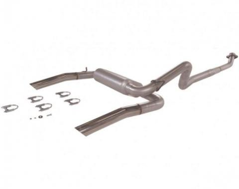 Camaro Flowmaster American Thunder Dual Exhaust, Cat  Back System, Aluminized Steel 1986-1991