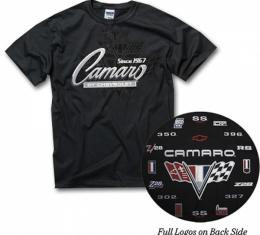 Camaro T-Shirt, Since 1967 Camaro Emblems