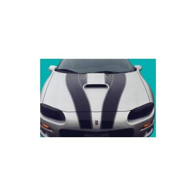 Camaro SS Stripe Kit, 30th Anniversary, Coupe, 1998-2002