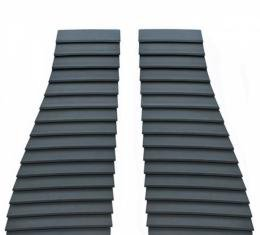 Camaro Hood Louvers, Pair, Z-28 And IROC-Z, 1985-1990