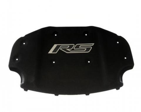 Camaro Underhood Liner, Black, With RS Logo, 2012-2015