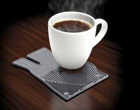 Drink Coaster, Black, WeatherTech®