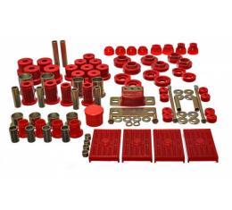 Hyperflex Polyurethane Bushing Master Kit, Multileaf, 67-69