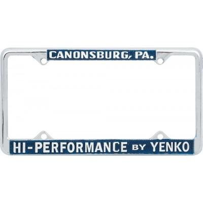 Yenko License Frame, High Performace By Yenko