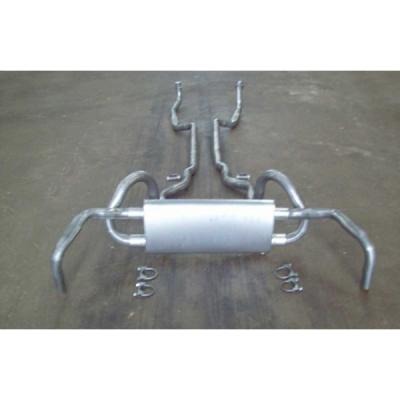 Exhaust System, Z28, Original Style, 1967-1968