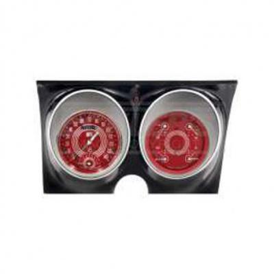 Camaro Classic Instruments V8 Red Steelie Series Speedtachular Analog Gauge Kit, 1967-1968