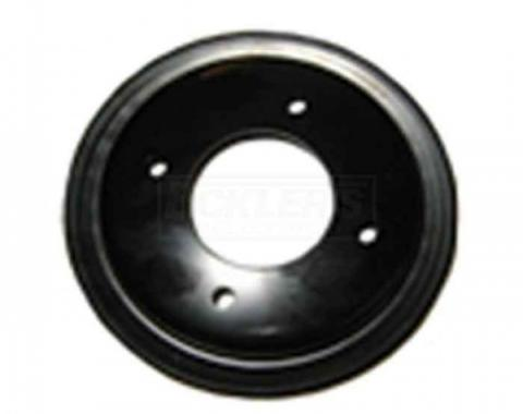 Firebird Crankshaft Pulley, Single Groove For Cars Without AIr Conditioning Or Power Steering, Pontiac V8, 1968-1970