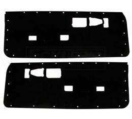 Camaro Door Panel Watershields, Pair, 1982-1992