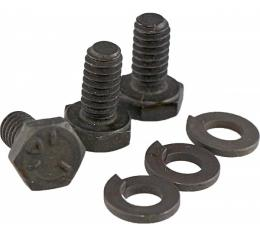 Camaro Air Injection Reactor (AIR) Pump Pulley Mounting Bolt Set, 1968-1969