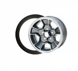 Camaro Z28 Reproduction Aluminum Wheels With Mounted BFGoodrich G-Force Super Sport A/S Tires, 1967-2002