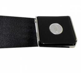 Nova -Morris Classic Concepts Lap Belt,  Black Lift Latch With Bowtie, 1962-1979