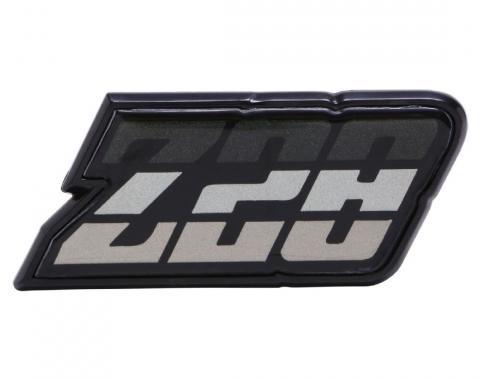 Trim Parts 80-81 Camaro Fuel Door Emblem, Z-28, Green, Each 6953
