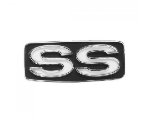 Trim Parts 69 Full-Size Chevrolet Horn Pad Emblem, SS, Each 6780