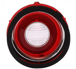 Trim Parts 71-73 Late Camaro R/S Back Up Light Lens, Left Hand, Each A6709A