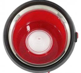 Trim Parts 71-73 Late Camaro Back Up Light Lens, Right Hand, Each A6712