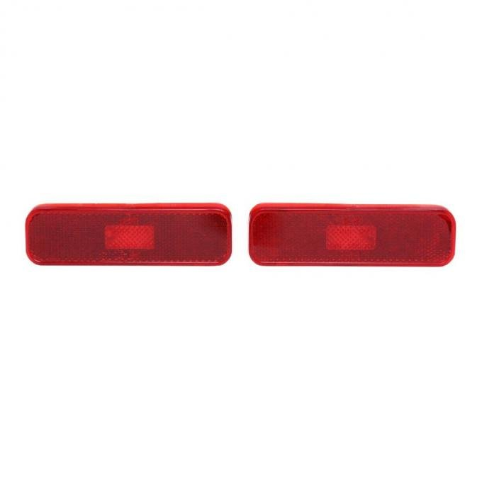Trim Parts 70-73 Camaro Rear Side Marker Light Assembly, No Gaskets or Brackets, Pair A6735