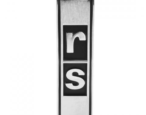Trim Parts 67-68 Camaro Grille Emblem, RS, Each 6715