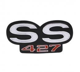 Trim Parts 68 Camaro Grille Emblem, SS 427, Standard, Each 6743