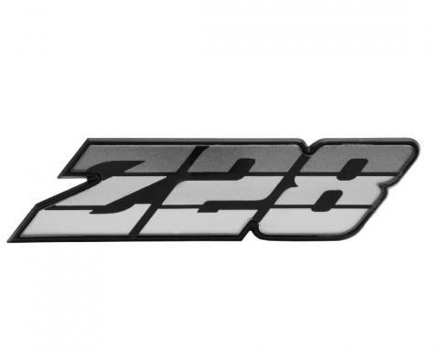 Trim Parts 80-81 Camaro Grille Emblem, Z-28, Silver, Each 6880