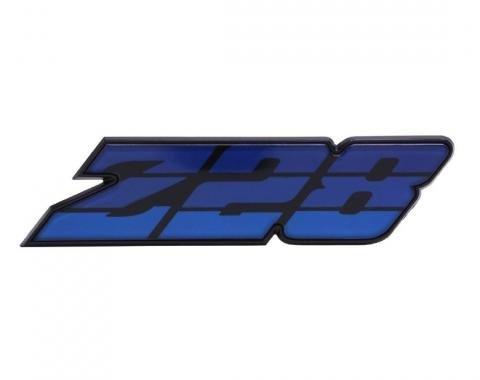 Trim Parts 80-81 Camaro Grille Emblem, Z-28, Blue, Each 6882