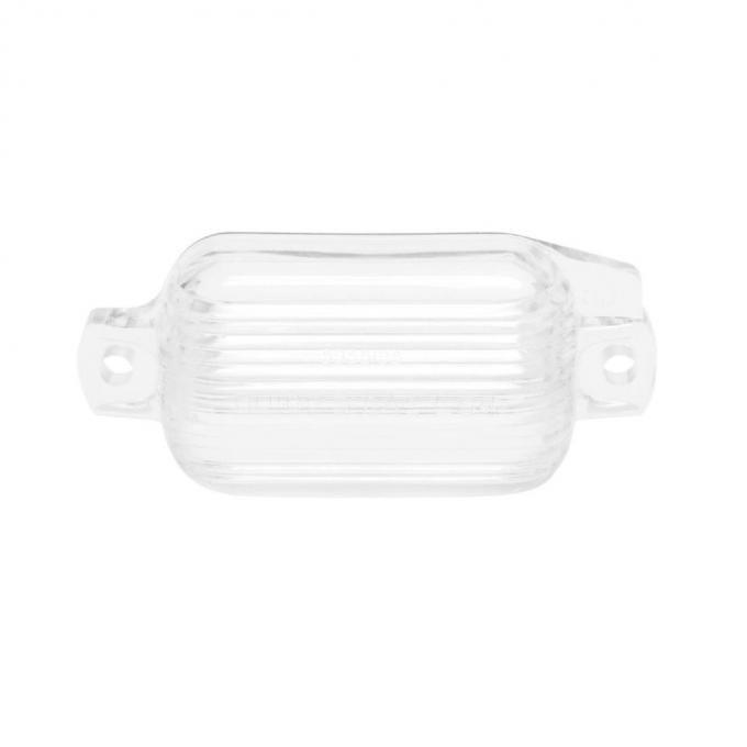 Trim Parts 66-70 Full-Size Chevrolet License Light Lens, Each A2190