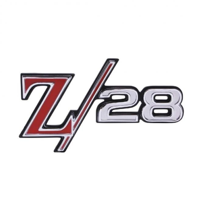 Trim Parts 69 Camaro Rear Emblem, Z-28, Each 6771