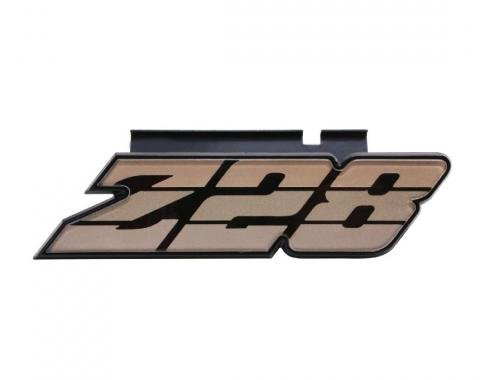 Trim Parts 80-81 Camaro Grille Emblem, Z-28, Gold, Each 6884