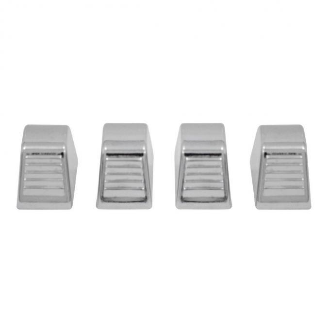 Trim Parts Chrome Heater Control Knobs, 4 pieces 9579