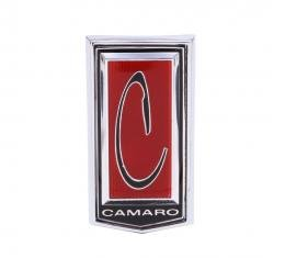 Trim Parts 71-74 Camaro Front Header Panel Emblem, Each 6821