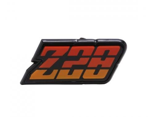Trim Parts 80-81 Camaro Fuel Door Emblem, Z-28, Orange, Each 6956