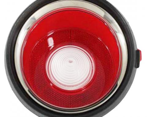 Trim Parts 70-71 Early Camaro Back Up Light Lens, Left Hand, Each A6711A