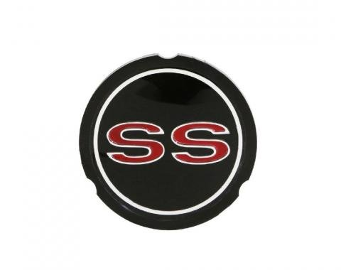 Trim Parts 65-66 Full-Size Chevrolet Wheel Cover Emblem, SS, Each 2480