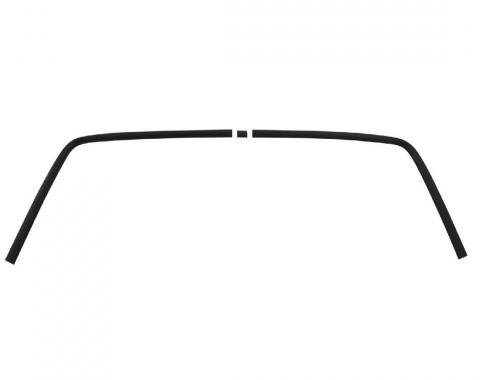 Trim Parts 67-68 Camaro Rear Window Trim, Complete, 3 Pieces 6723