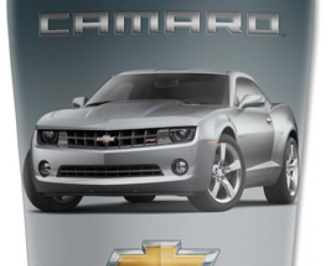Mugzie® brand Travel Mug - Silver Camaro