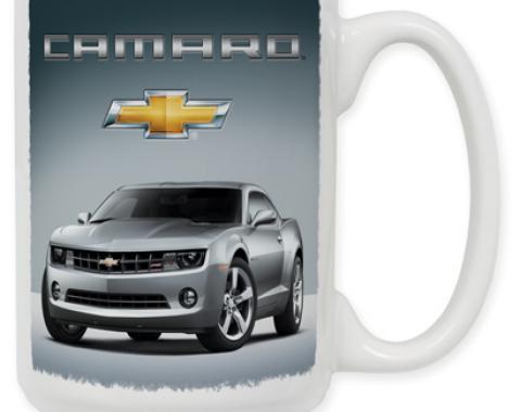 Silver Camaro Coffee Mug